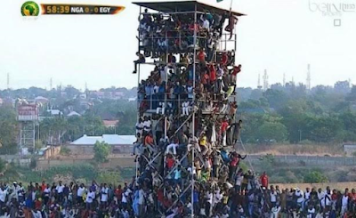 caf fines Nigeria $5,000 for overcrowding at kaduna egypt match