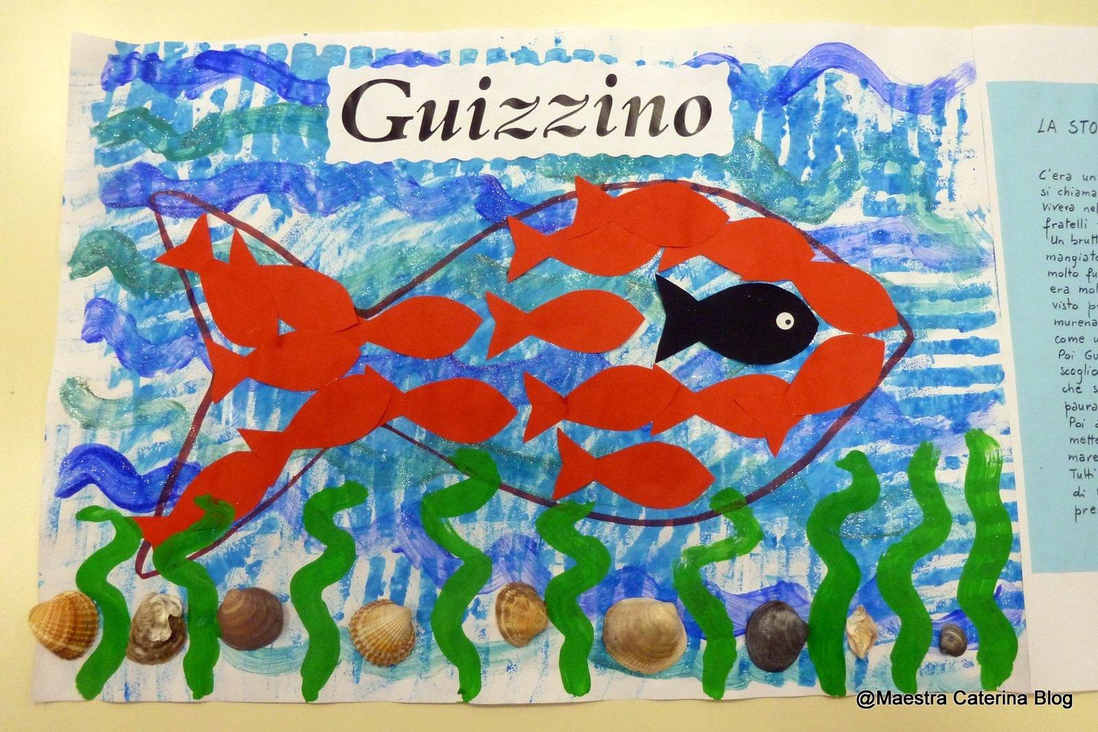 Maestra caterina guizzino for Immagini da colorare di pesci