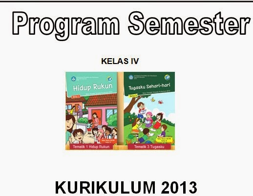 Download Program Semester Kurikulum 2013 Data Sekolah