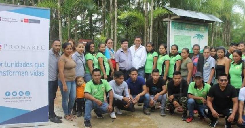 PRONABEC: Estudiantes sobresalientes culminan beca técnico productiva en Loreto - www.pronabec.gob.pe