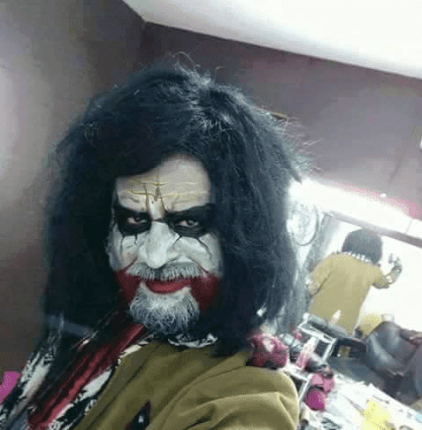 Joker Look Of Rajinikanth In 'Kabali' Is Fake