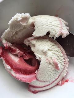 Perfect World Raspberry Ripple Ice Cream