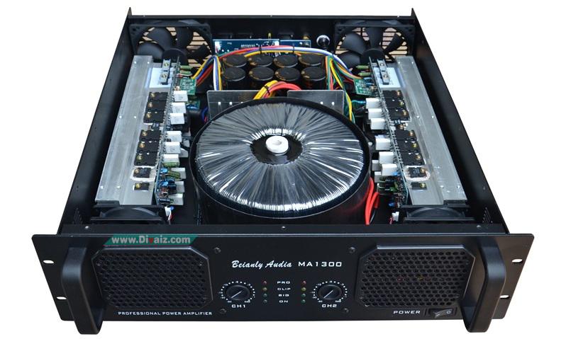 Rangkaian Power Amplifier Daya Tinggi 5000 Watt Plus Skema