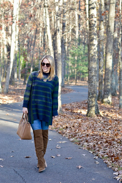 fall-oversized-striped-sweater-outfit