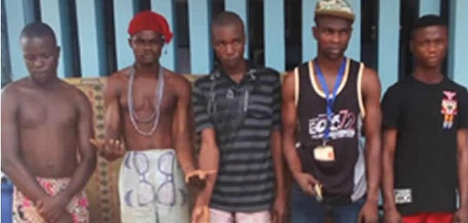 Imo Police nab alleged kidnappers of corps members.