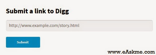 How to Submit an Article to Digg : eAskme