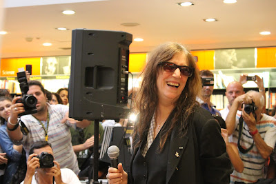 Patti Smith Feltrinelli Bari