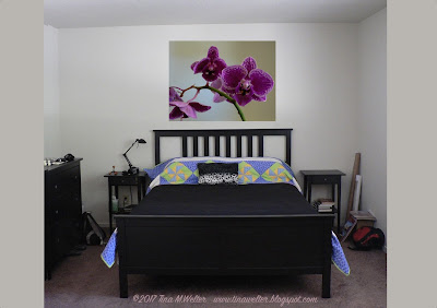 Soft Light Orchid, photograph ©2017 Tina M.Welter, painting idea for the bedroom