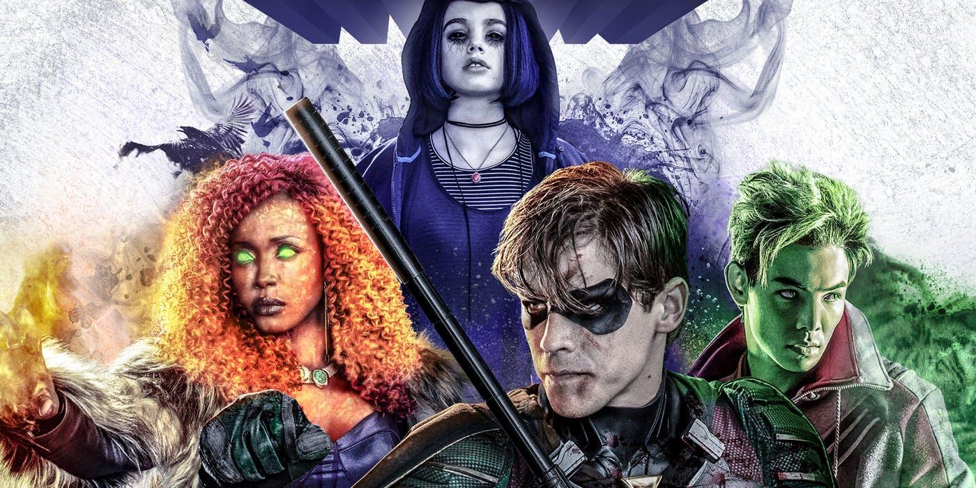 DC confirma 3ª Temporada de Titãs