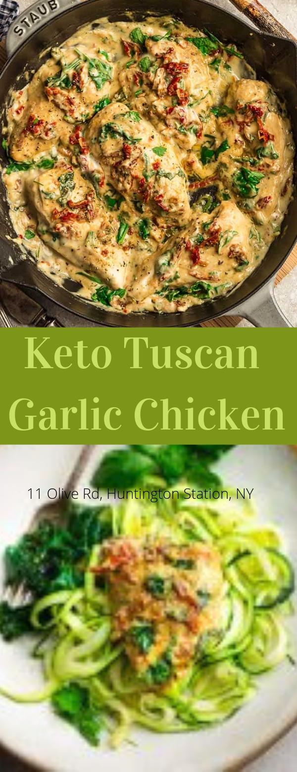 Keto Tuscan Garlic Chicken