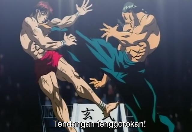 Baki The Grappler Episode 42 Subtitle Indonesia