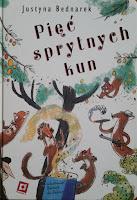 Justyna Bednarek, kuny, książka dla dzieci