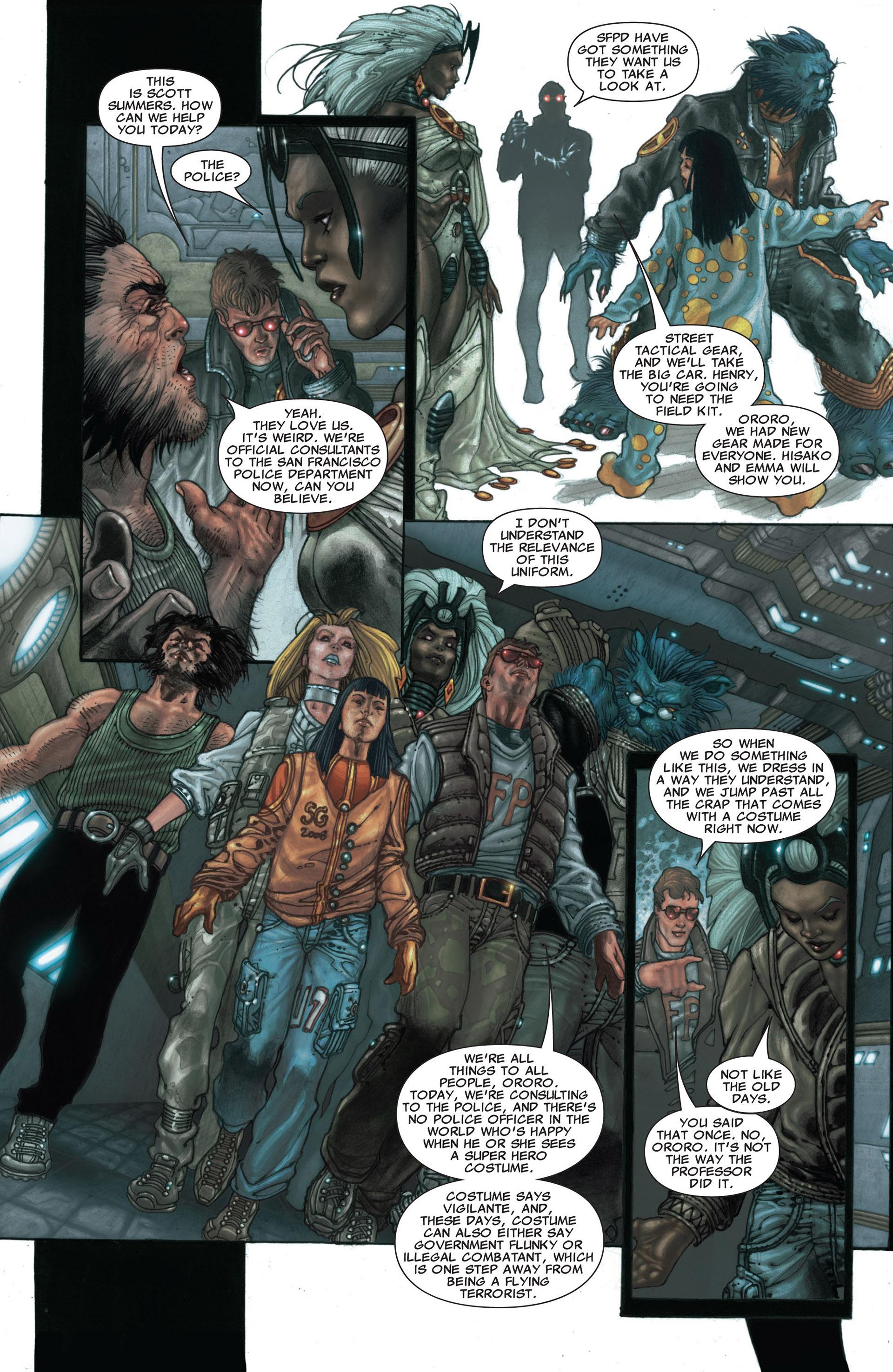Read online Astonishing X-Men (2004) comic -  Issue #25 - 14