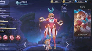 Skill Hero Angela Mobile Legends