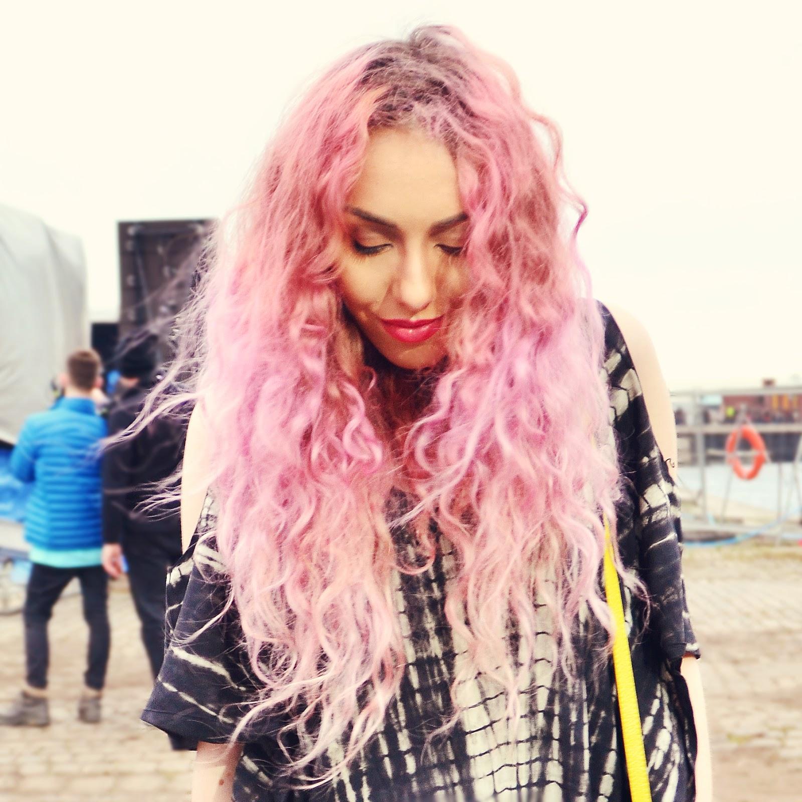 Festival Pastel Hair