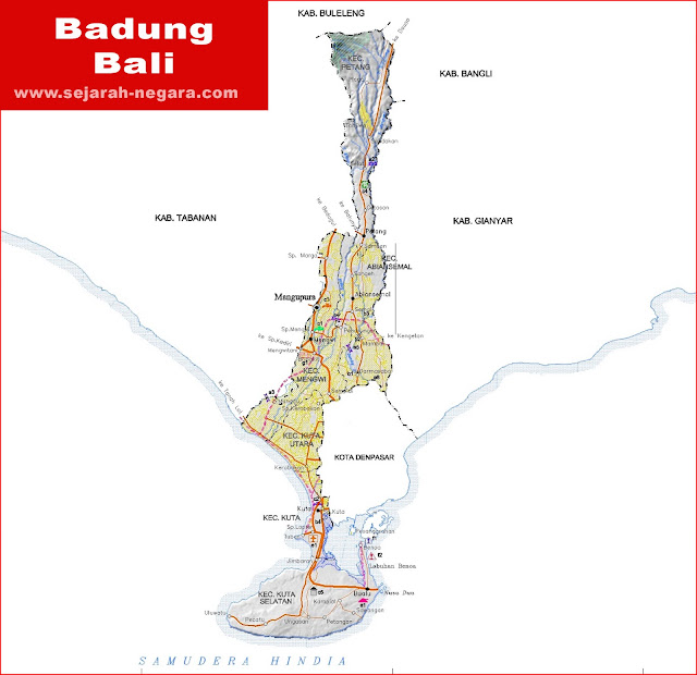 image: Badung Map High Resolution
