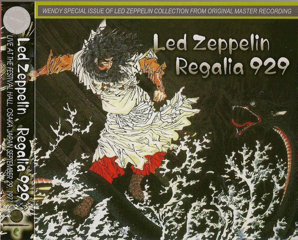 1971 - Led Zeppelin - Regalia 929 - Osaka