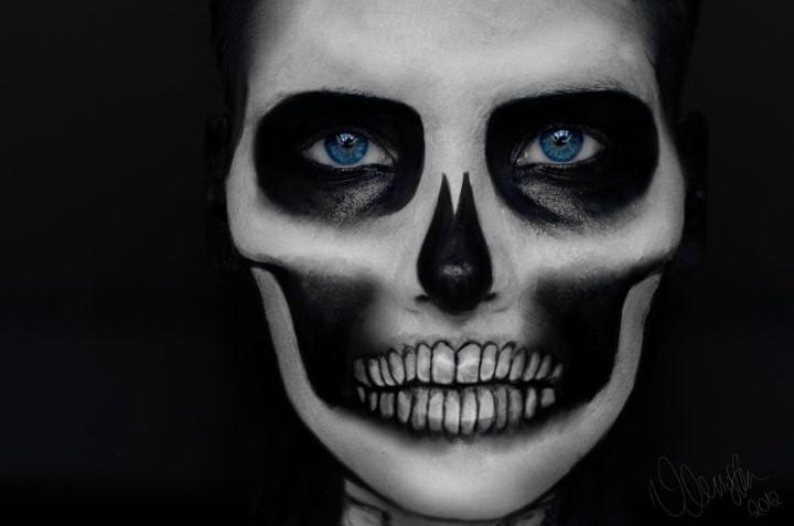 Mademoiselle Mu. Мрачный макияж 11