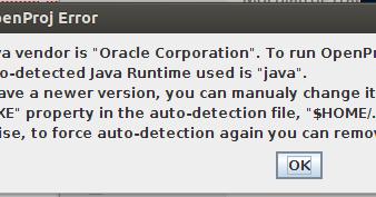 How to install OpenProj 1 4 in Ubuntu 13 04   Try this  !
