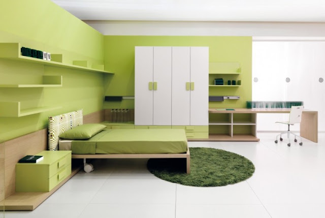 Best green bedroom for a well-designed place to rest your head