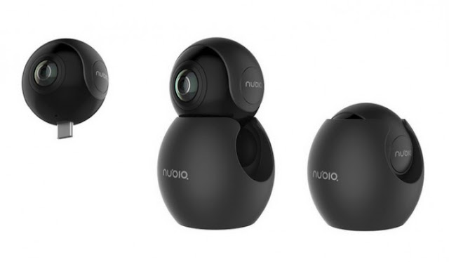 ZTE Nubia NeoAir VR 360-degree Panoramic Camera