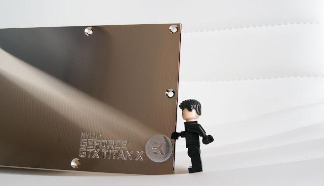 Backplate para Titan X: EK-FC Titan X Backplate - Nickel