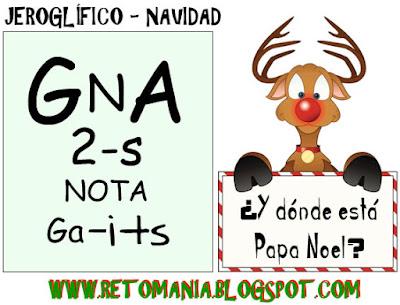 Jeroglíficos, Navidad, Jeroglífico, retos matemáticos, desafíos matemáticos, problemas de lógica, problemas para pensar