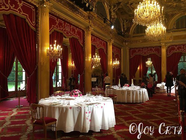 L'immense salle des fête du Palais de l'Elysée, Paris