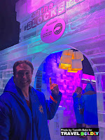 On the Blocks ICE! Bar at the Gaylord Texan Resort, Grapevine, Texas. Travel Boldly