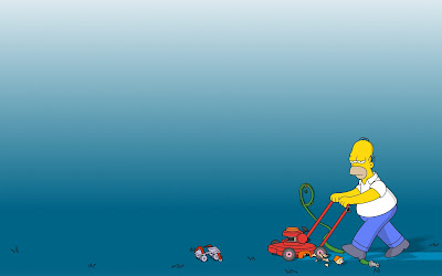 The Simpsons HD Desktop Wallpapers for Widescreen, Fullscreen