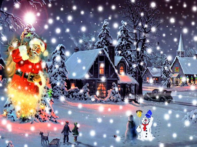 Free Download Animated Christmas Wallpapers