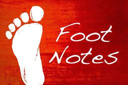 Contoh Catatan Kaki (Footnote) dan Cara Membuatnya