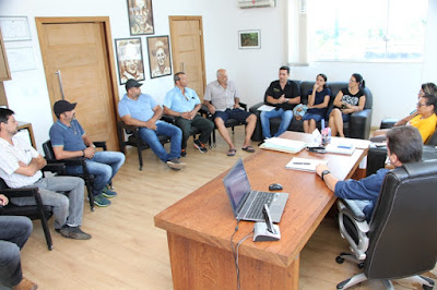 Prefeito Renato Soares recebe visita de empresários locais