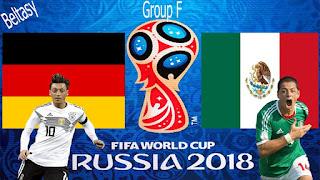 Mexico vence Alemanha por 1 a 0 no mundial da Russia