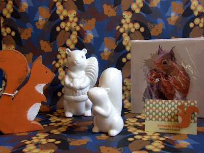 Celebrating squirrels at Present Perfect, Melrose