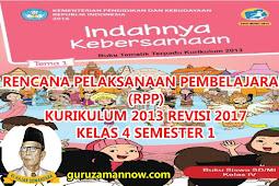 RPP KELAS 4 TEMA 1 SD/MI KURTILAS REVISI TAHUN PELAJARAN 2018 - 2019