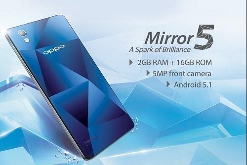 Harga HP Oppo Mirror 5 Info Terbaru Agustus 2017 Lengkap Dengan Spesifikasi