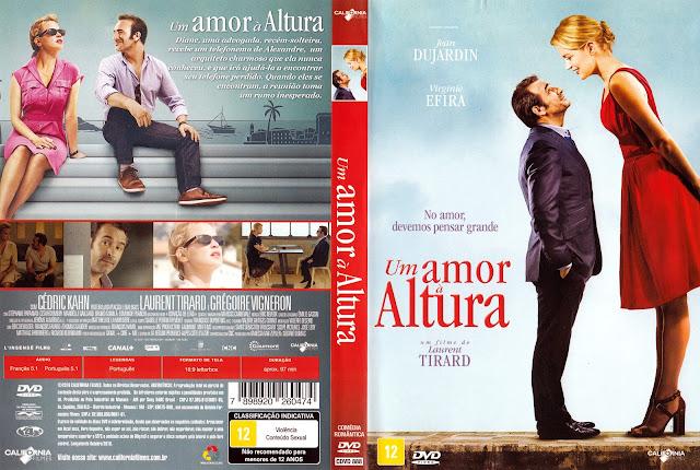 Capa DVD Um Amor à Altura (Oficial)