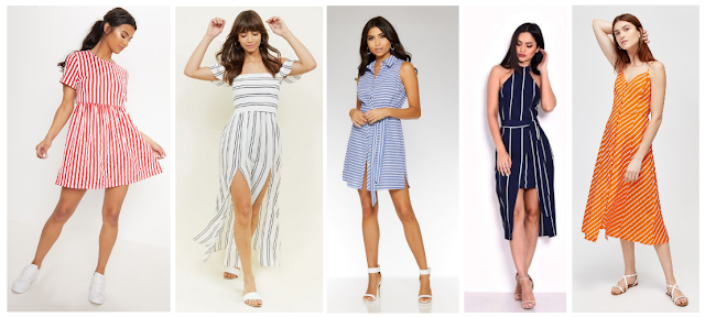 Top 5 Dress Trends Summer 2018 - Striped Dresses