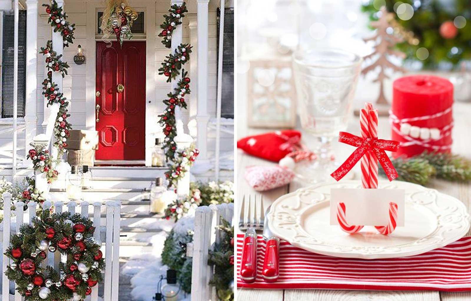 tendances déco fêtes fin d'année noël traditionnel