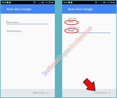 cara mengubah akun gmail