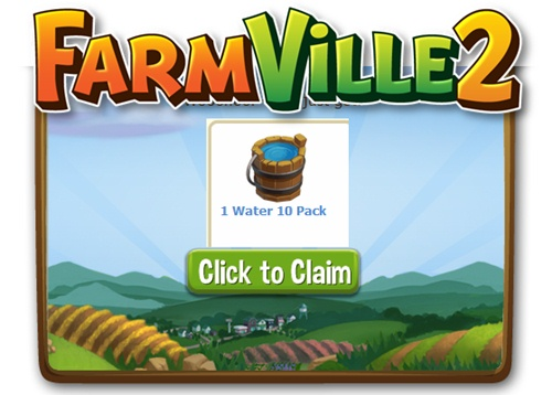 Farmville 2 Free  Water