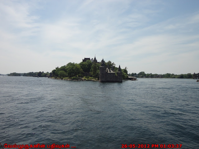 German-style Boldt Castle in 1000 Islands