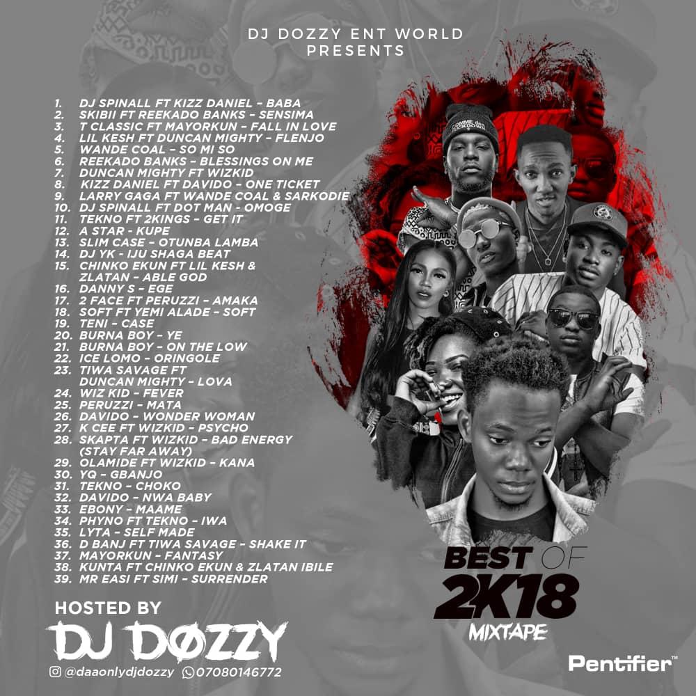 MIXTAPE: Dj Dozzy - Best Of 2018