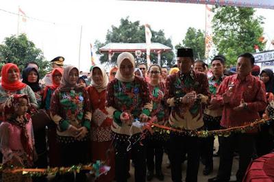 Bupati Lambar Buka Festival Pendidikan Budaya