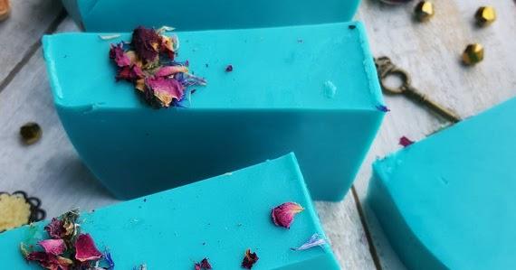 Summer Blue Handmade Soap