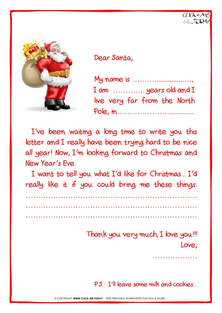 How to Write a Letter to Santa Claus How To