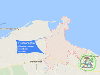 PETA : Kecamatan Pusakanagara, Kabupaten Subang, Jawa Barat