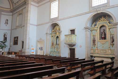 Igreja Santana Albufeira, Algarve.
