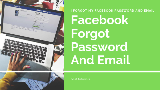 I Forgot My Email Id And Password Of Facebook<br/>